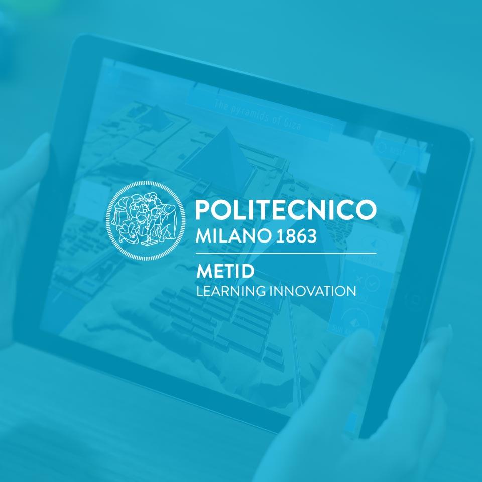 POLIMI / METID – La Realtà Aumentata nello sviluppo di un'App innovativa