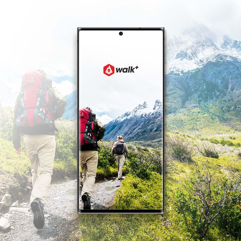 Walk Plus – UX/UI Design e sviluppo di un'App nativa per il trekking